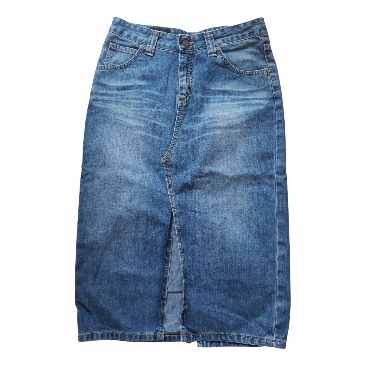 Lee \N Rocke in  Blau Denim - Jeans