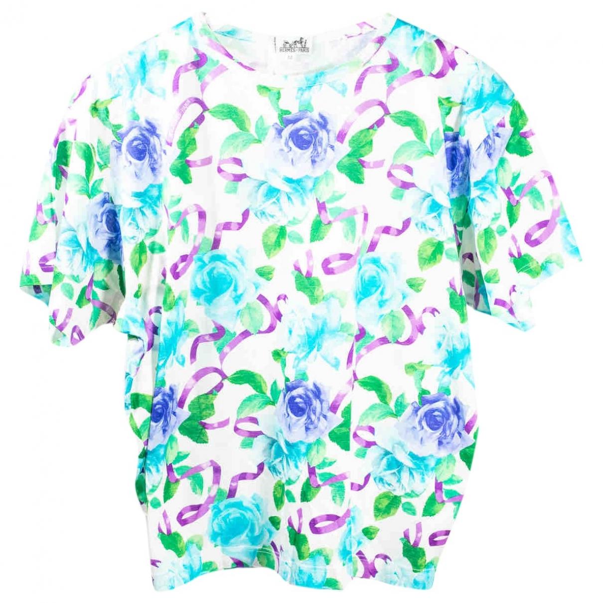 Hermès \N Multicolour Cotton  top for Women 38 FR