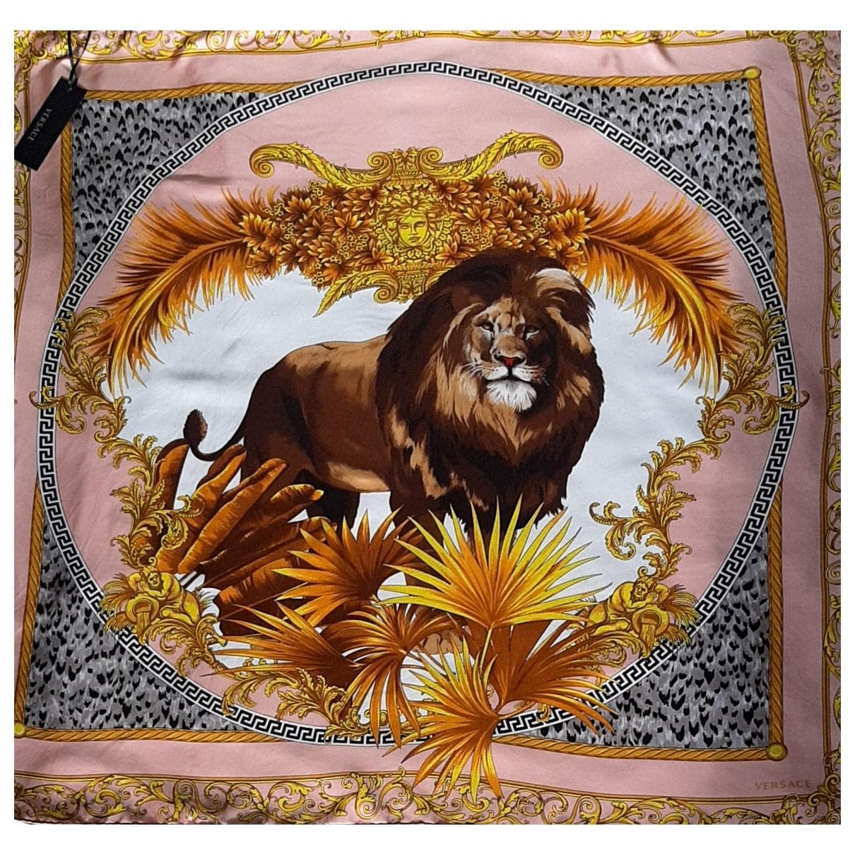 Versace \N Schal in  Bunt Seide