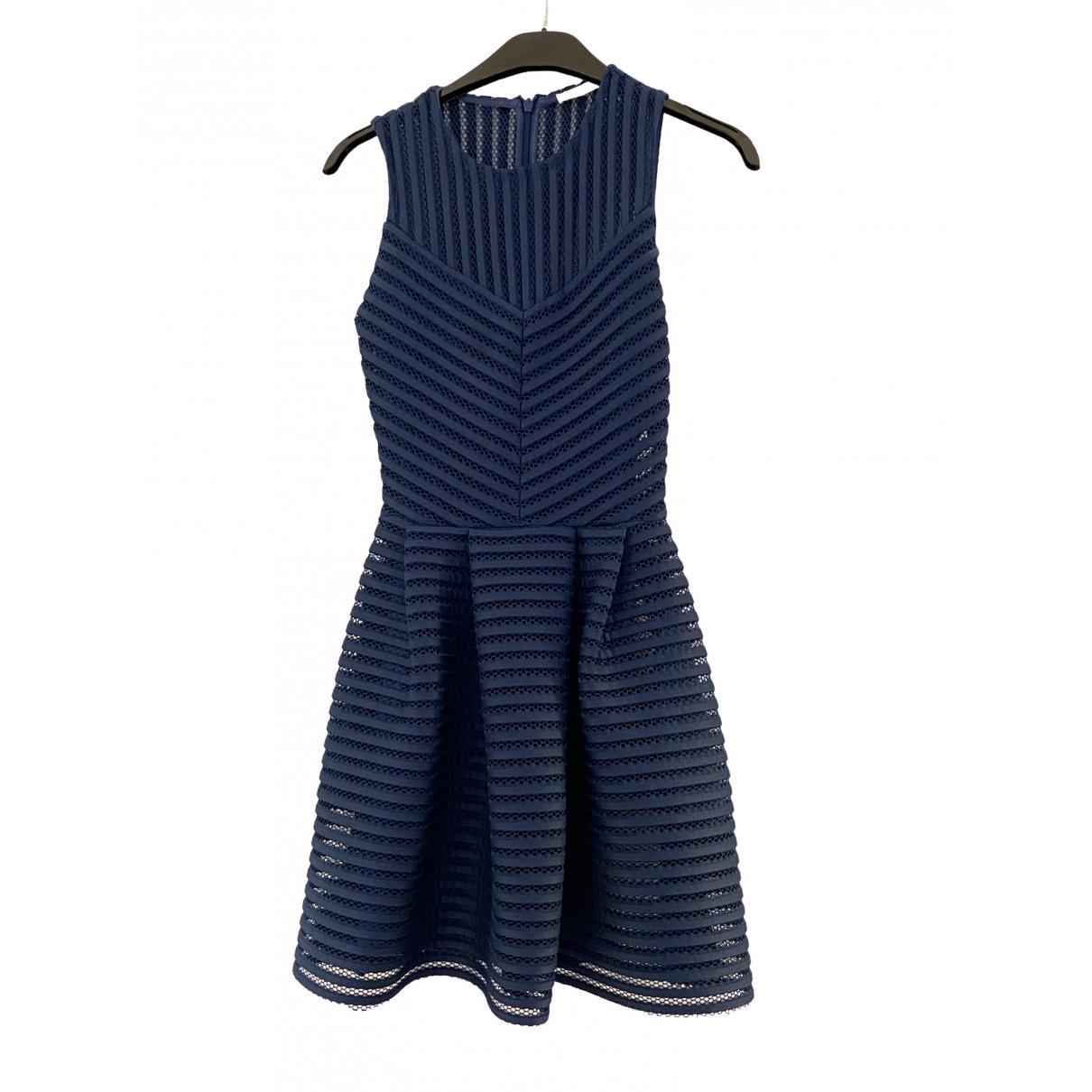 Maje Spring Summer 2019 Blue dress for Women 36 FR