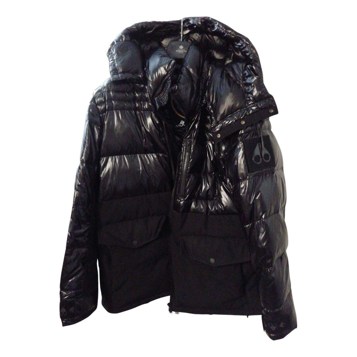Moose Knuckles - Manteau   pour homme - noir