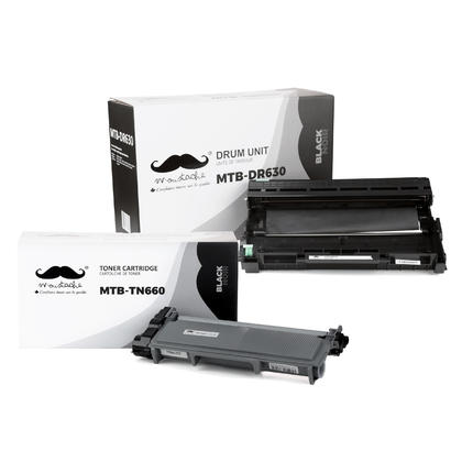 Compatible Brother MFC-L2705DW Toner and Drum Combo
