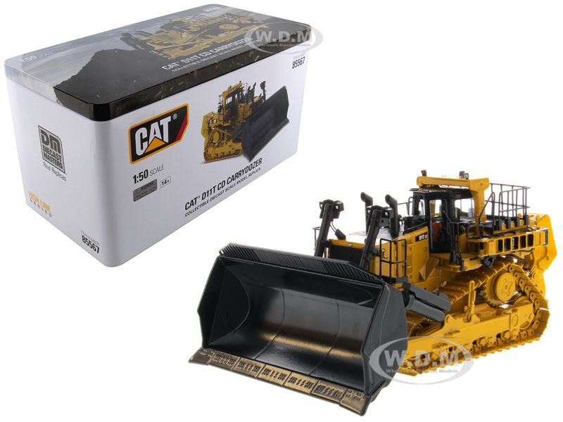 CAT Caterpillar D11T CD Carrydozer with Operator High Line Series 1/50 Diecast Model by Diecast Masters