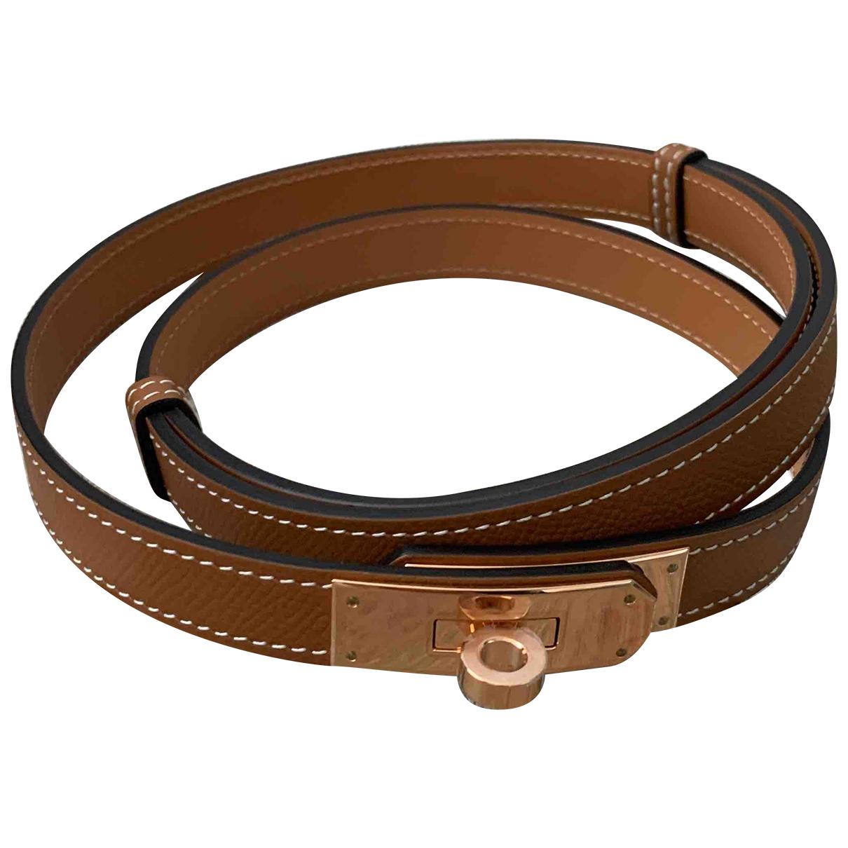 Cinturon Kelly de Cuero Hermes