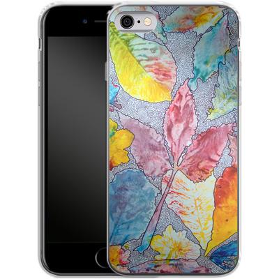 Apple iPhone 6 Silikon Handyhuelle - Spring Drawing Meditation von Kaitlyn Parker