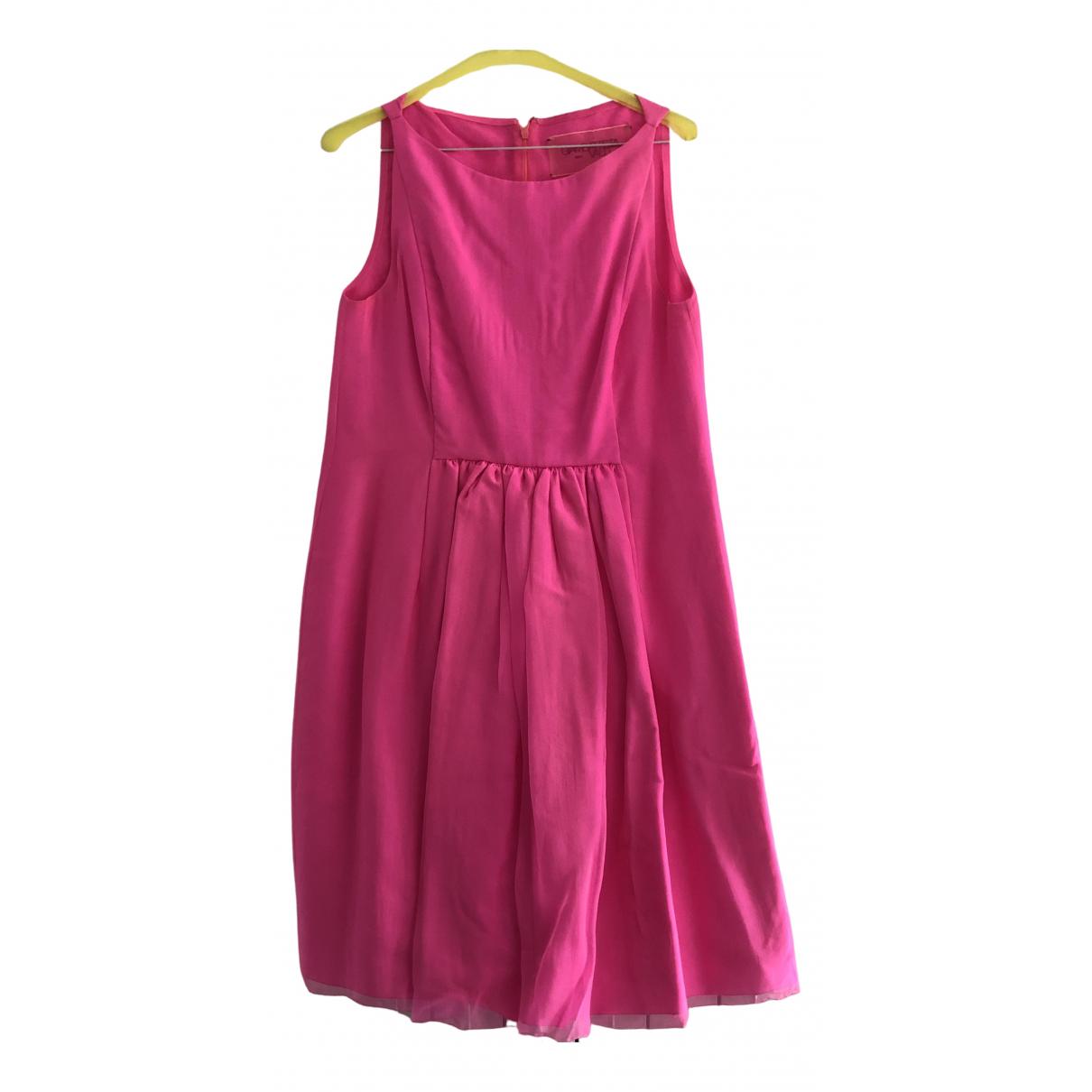 Vestido midi de Seda Giambattista Valli