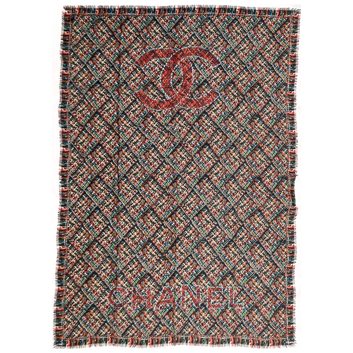 Chanel N Multicolour Cashmere scarf for Women N