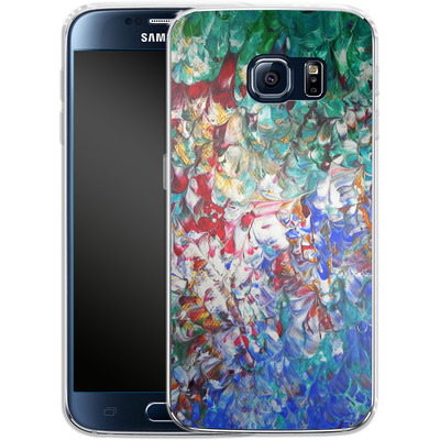 Samsung Galaxy S6 Silikon Handyhuelle - Macro 10 von Gela Behrmann