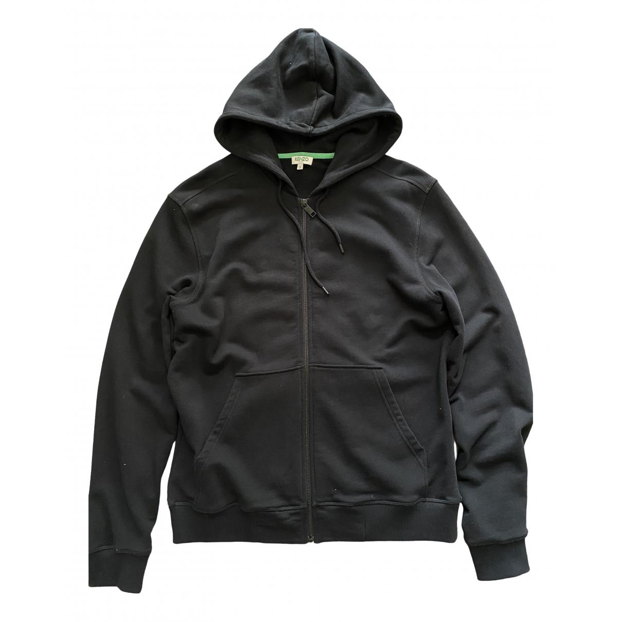 Kenzo \N Black Cotton Knitwear & Sweatshirts for Men S International