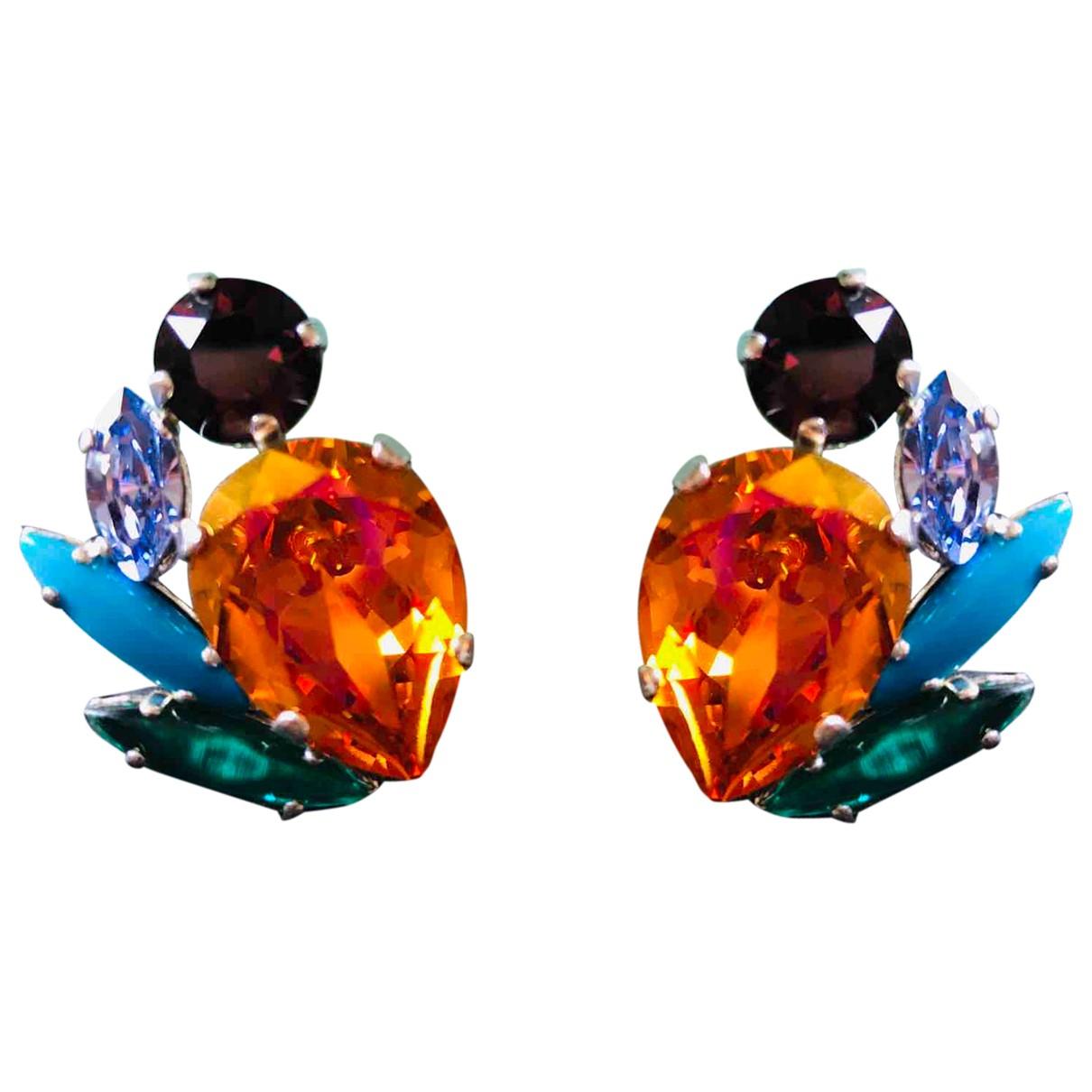 Reminiscence - Boucles doreilles   pour femme en metal - multicolore