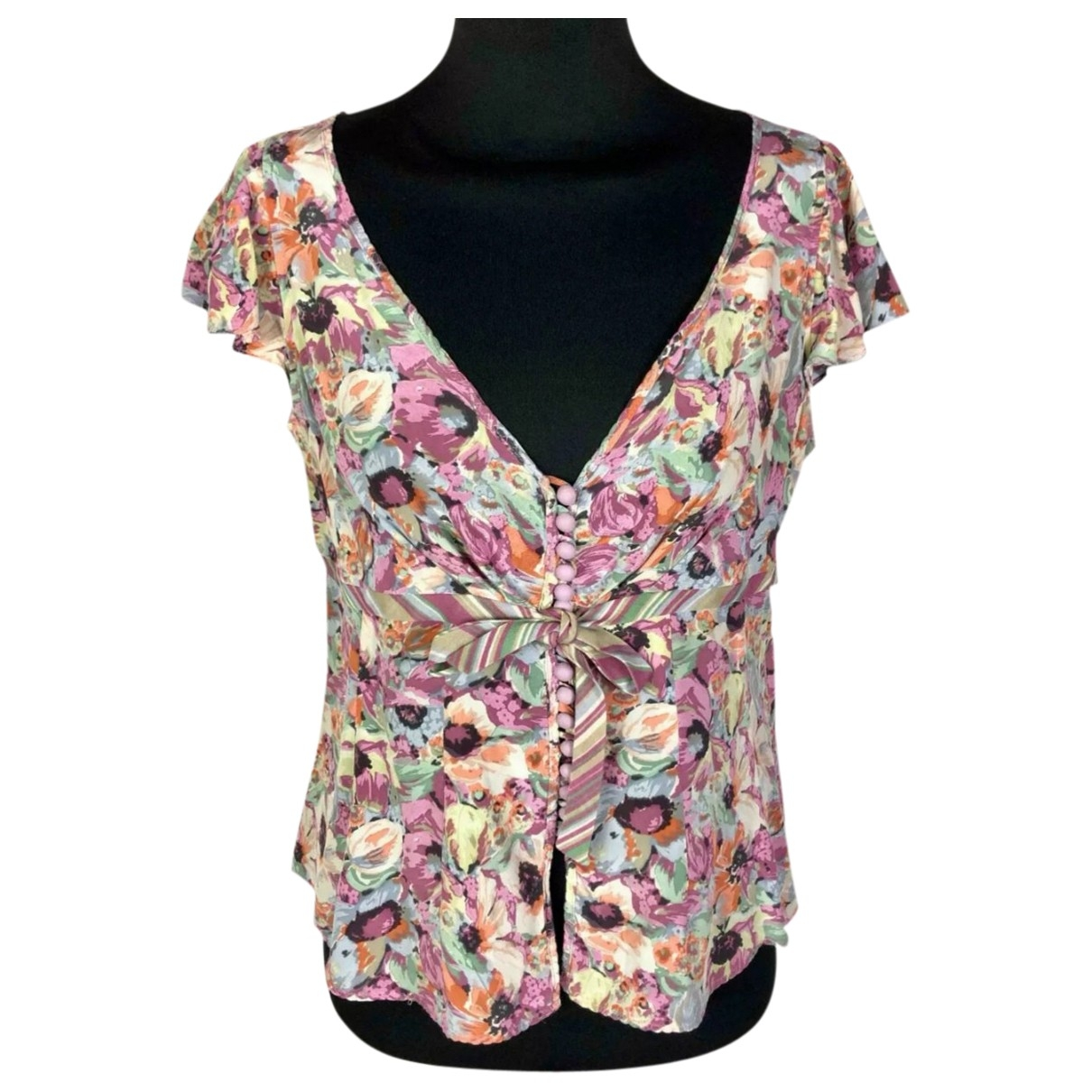 Max Mara \N Multicolour Silk  top for Women 42 IT