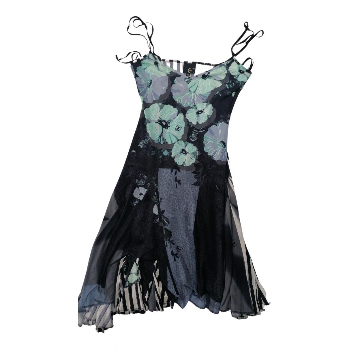 Just Cavalli N Multicolour Cotton dress for Women 42 FR