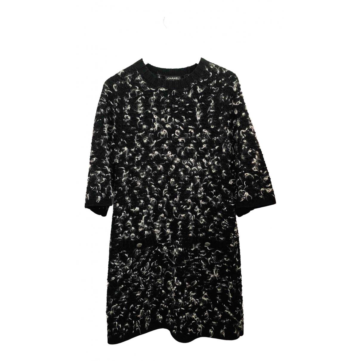 Chanel - Robe   pour femme en laine