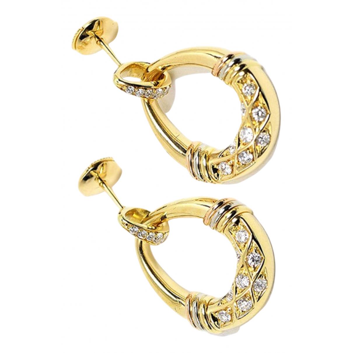 Cartier - Boucles doreilles   pour femme en or jaune - jaune