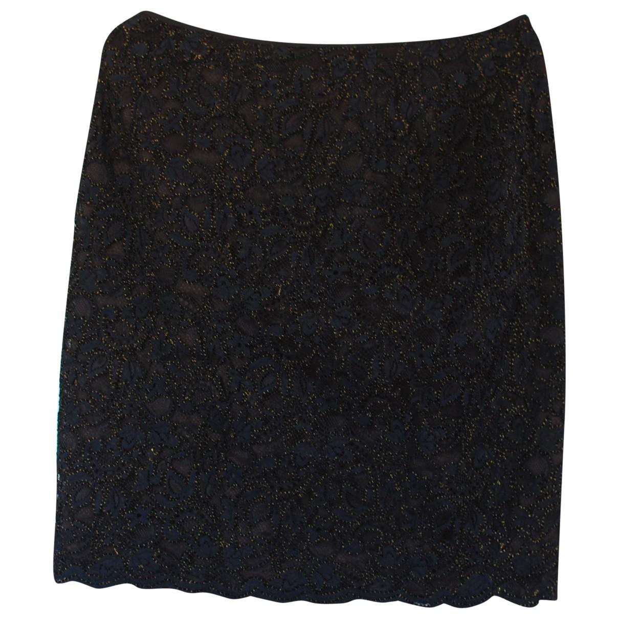 Emanuel Ungaro - Jupe   pour femme en coton - noir