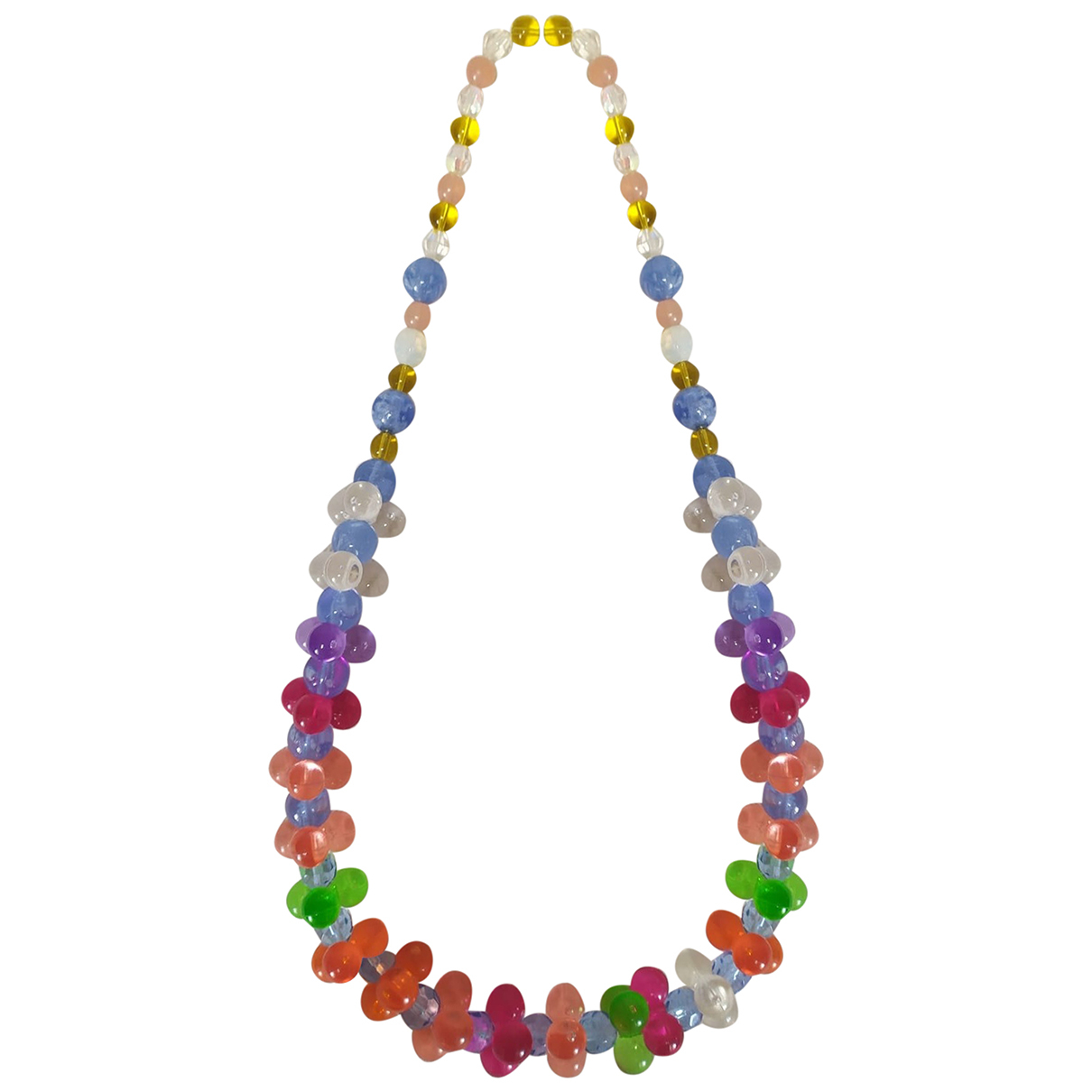 Non Signé / Unsigned N Multicolour necklace for Women N
