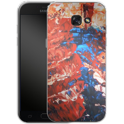 Samsung Galaxy A5 (2017) Silikon Handyhuelle - Macro 11 von Gela Behrmann