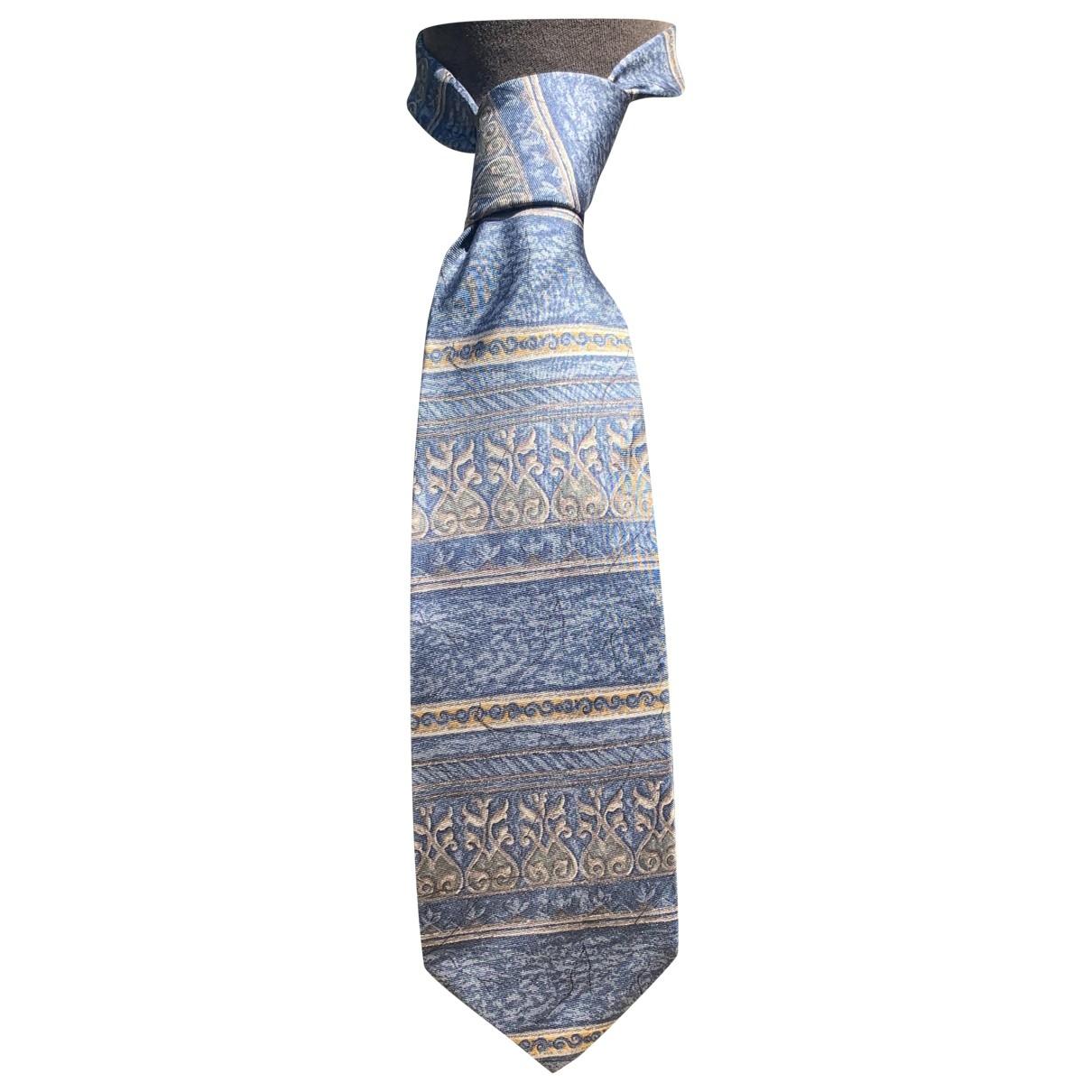 Bill Blass - Cravates   pour homme en soie - bleu