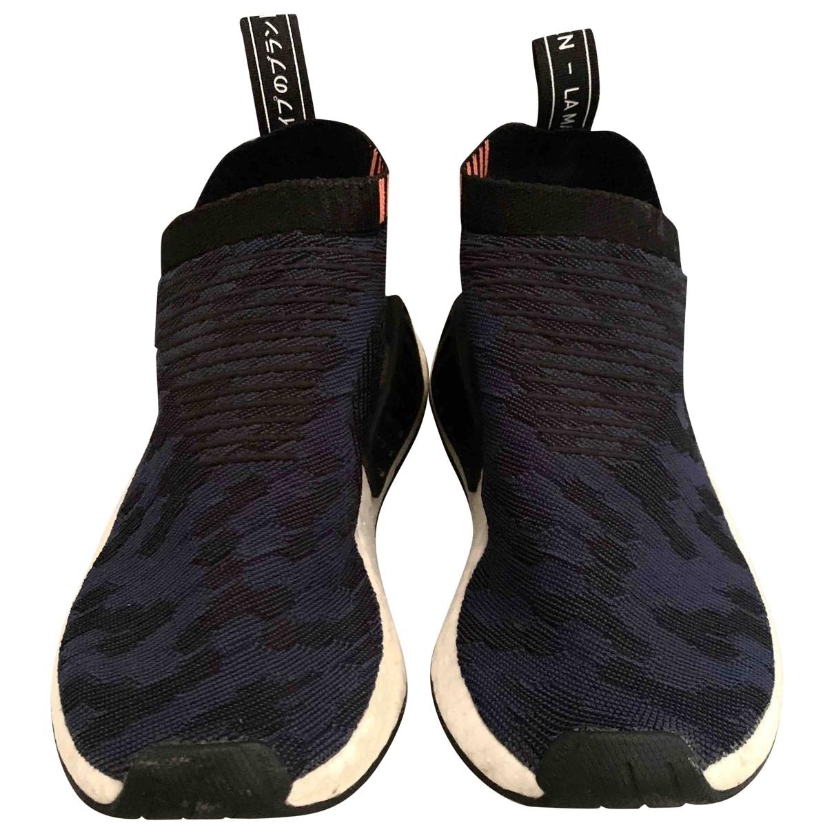 Adidas - Baskets Nmd pour femme en toile - noir