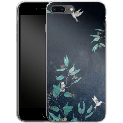 Apple iPhone 8 Plus Silikon Handyhuelle - Tranquility von Stephanie Breeze