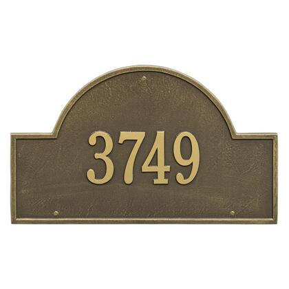 1001AB Arch Marker - Estate Wall - One Line in Antique
