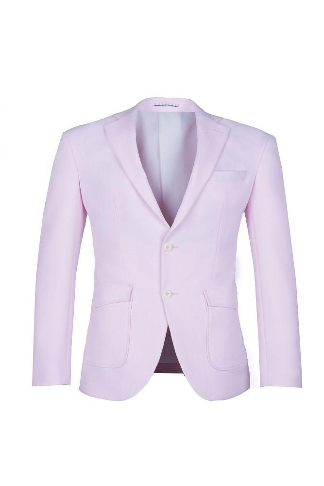 Traje rosado de alta calidad de la solapa del pecho de la solapa del pecho rosado