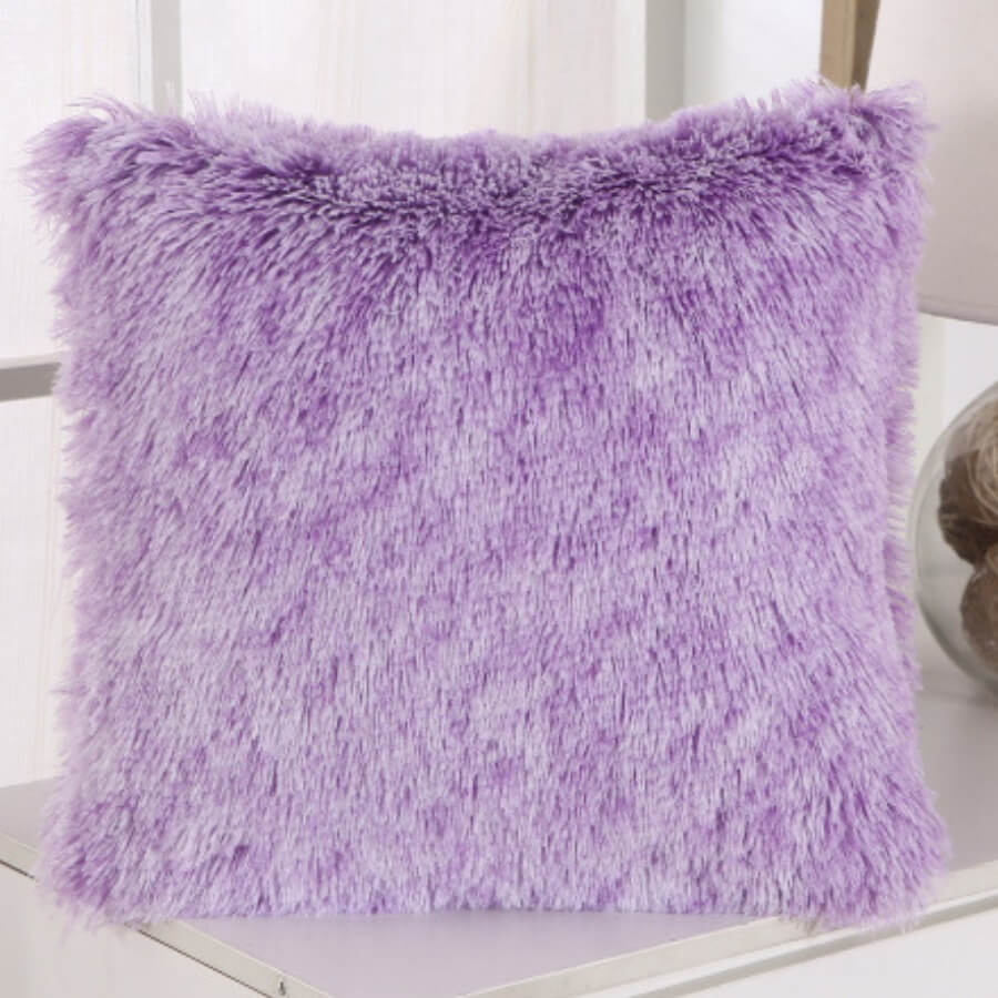 LW Lovely Chic Purple Decorative Pillow Case