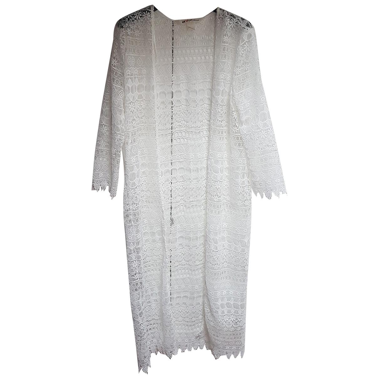 Autre Marque - Top   pour femme en coton - blanc