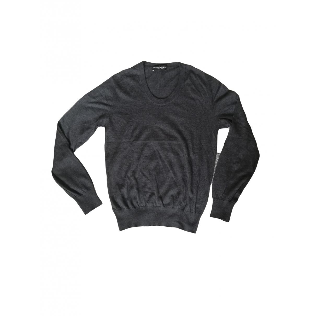 Dolce & Gabbana \N Anthracite Cashmere Knitwear & Sweatshirts for Men 50 IT