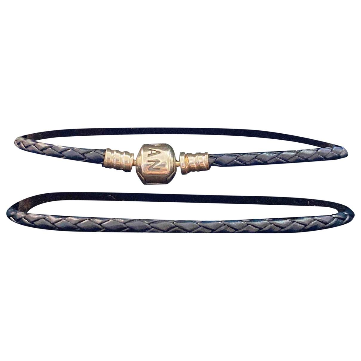 Pandora \N Blue Leather bracelet for Women \N