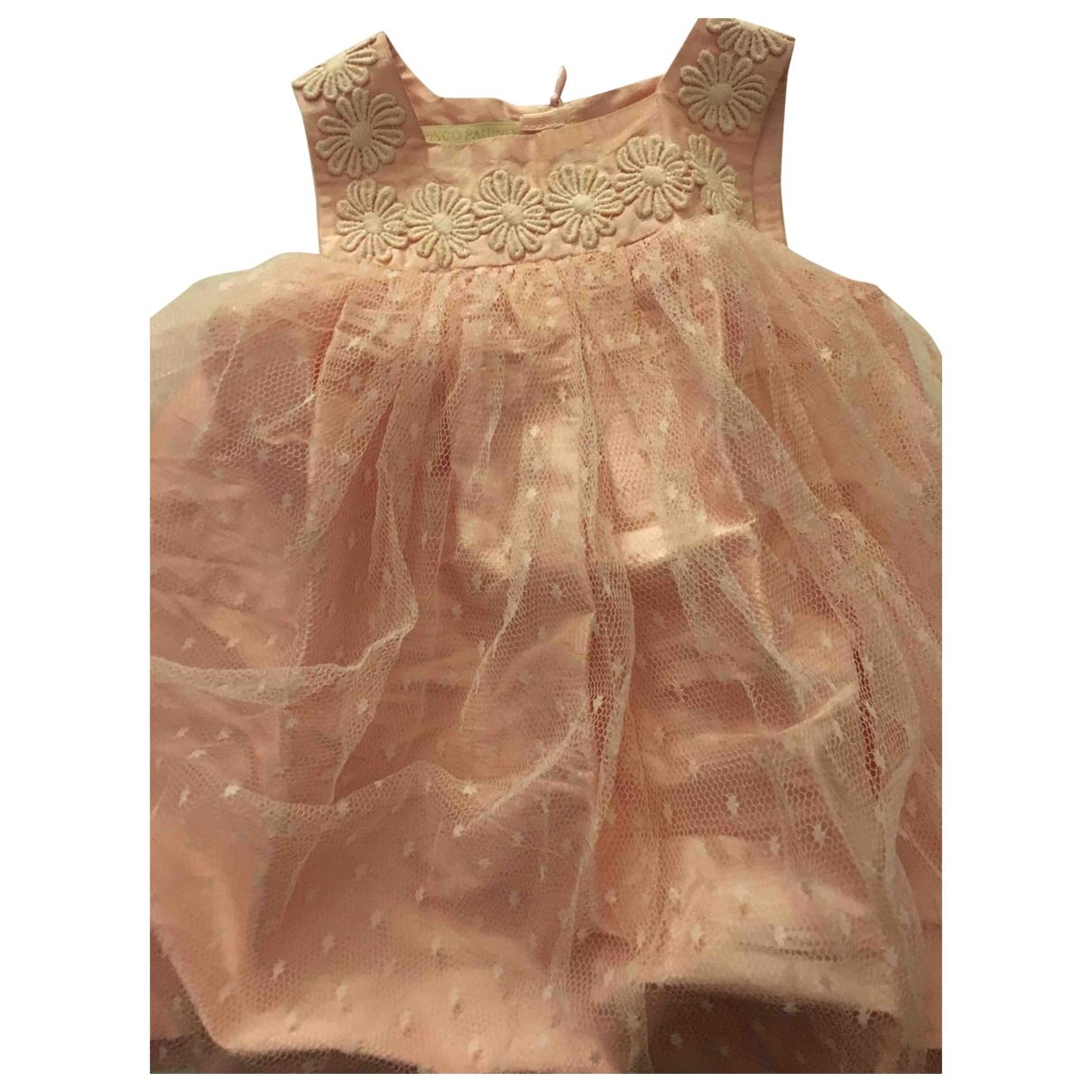 I Pinco Pallino \N Kleid in  Rosa Seide