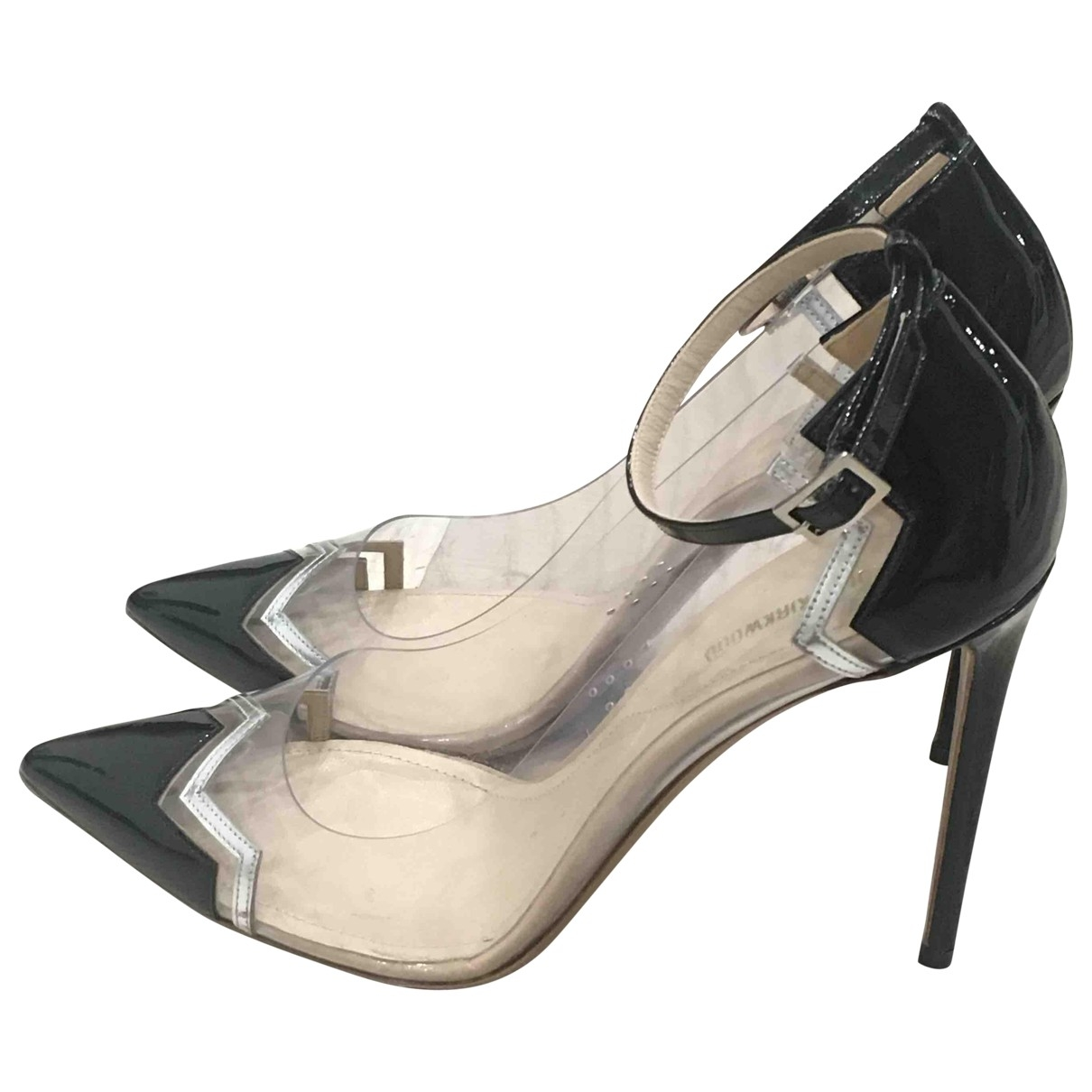 Nicholas Kirkwood \N Black Patent leather Heels for Women 39 EU