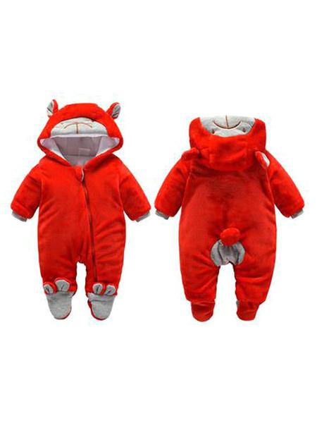 Milanoo Onesie Pyjamas Mono de franela de mono Kigurumi para niños pequeños