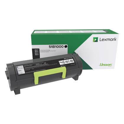 Lexmark 51B1000 cartouche de toner du programme retour originale noire