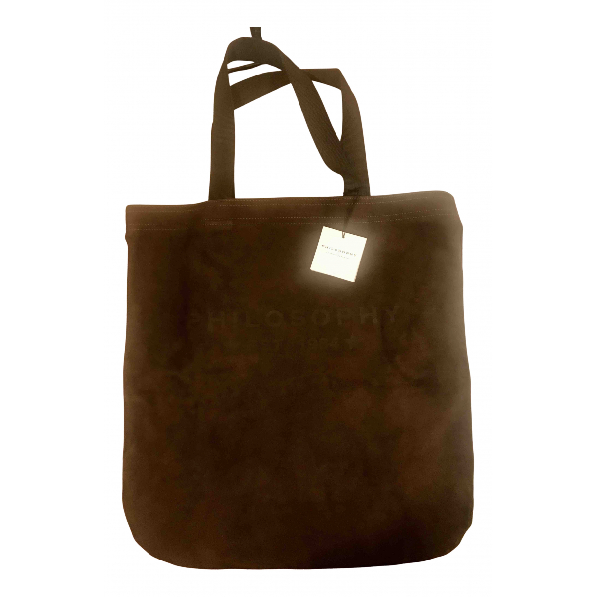 Philosophy Di Lorenzo Serafini N Brown Suede handbag for Women N