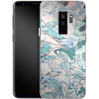 Samsung Galaxy S9 Plus Silikon Handyhuelle - Make Me Blush von Stephanie Breeze
