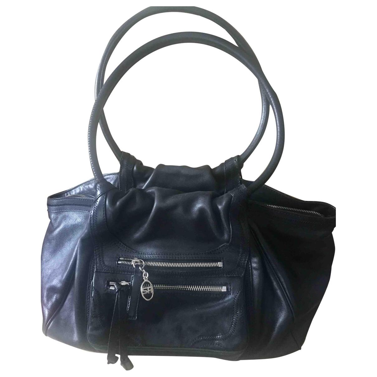 Sonia Rykiel \N Black Leather handbag for Women \N