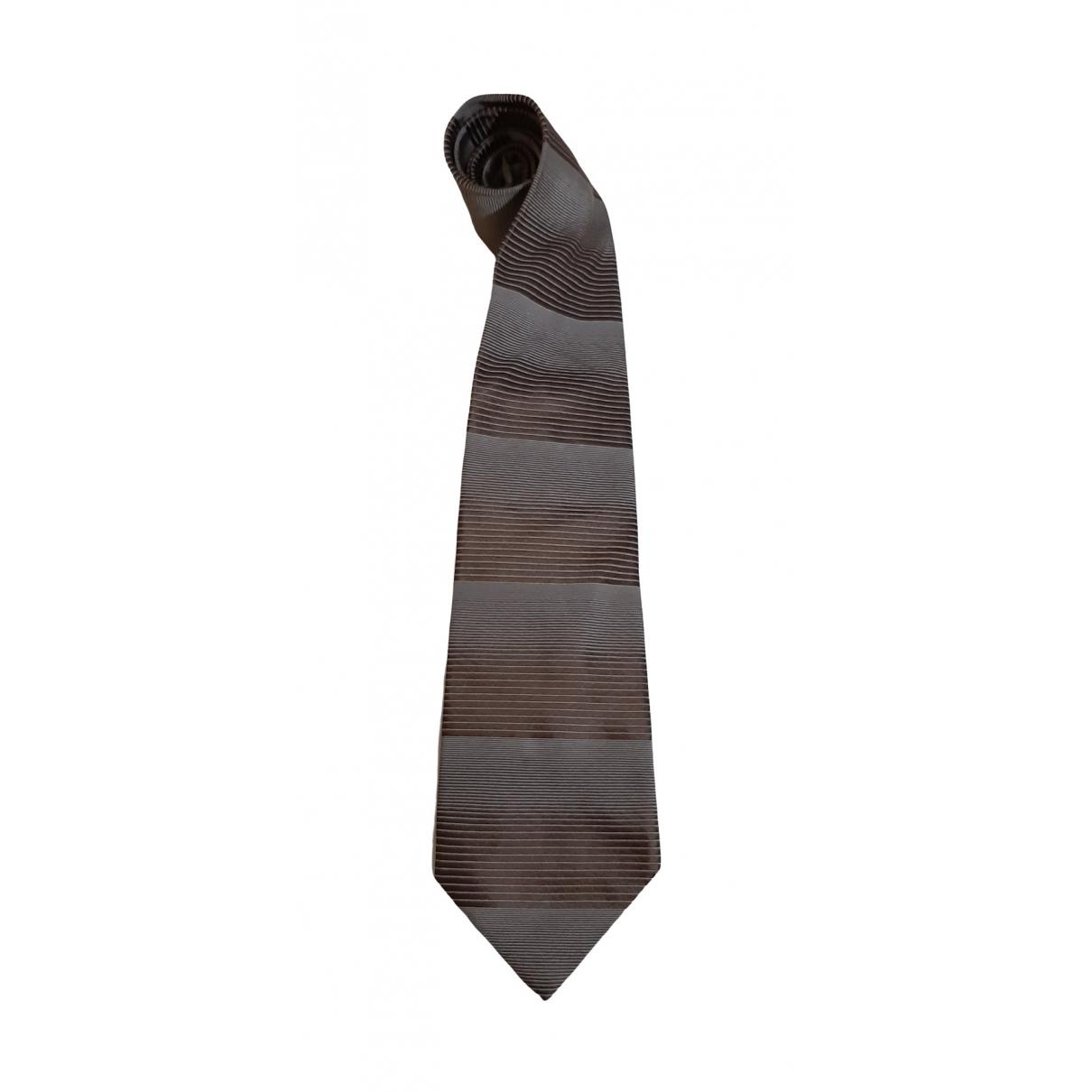 Valentino Garavani \N Krawatten in  Braun Seide