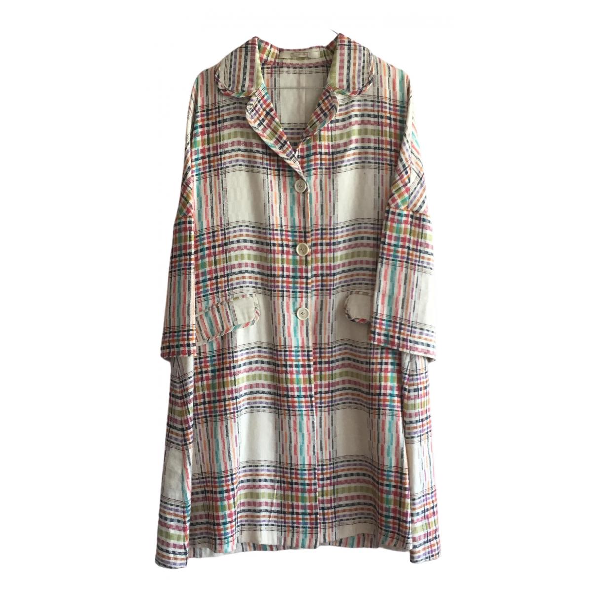 Massimo Alba \N Multicolour Linen coat for Women L International