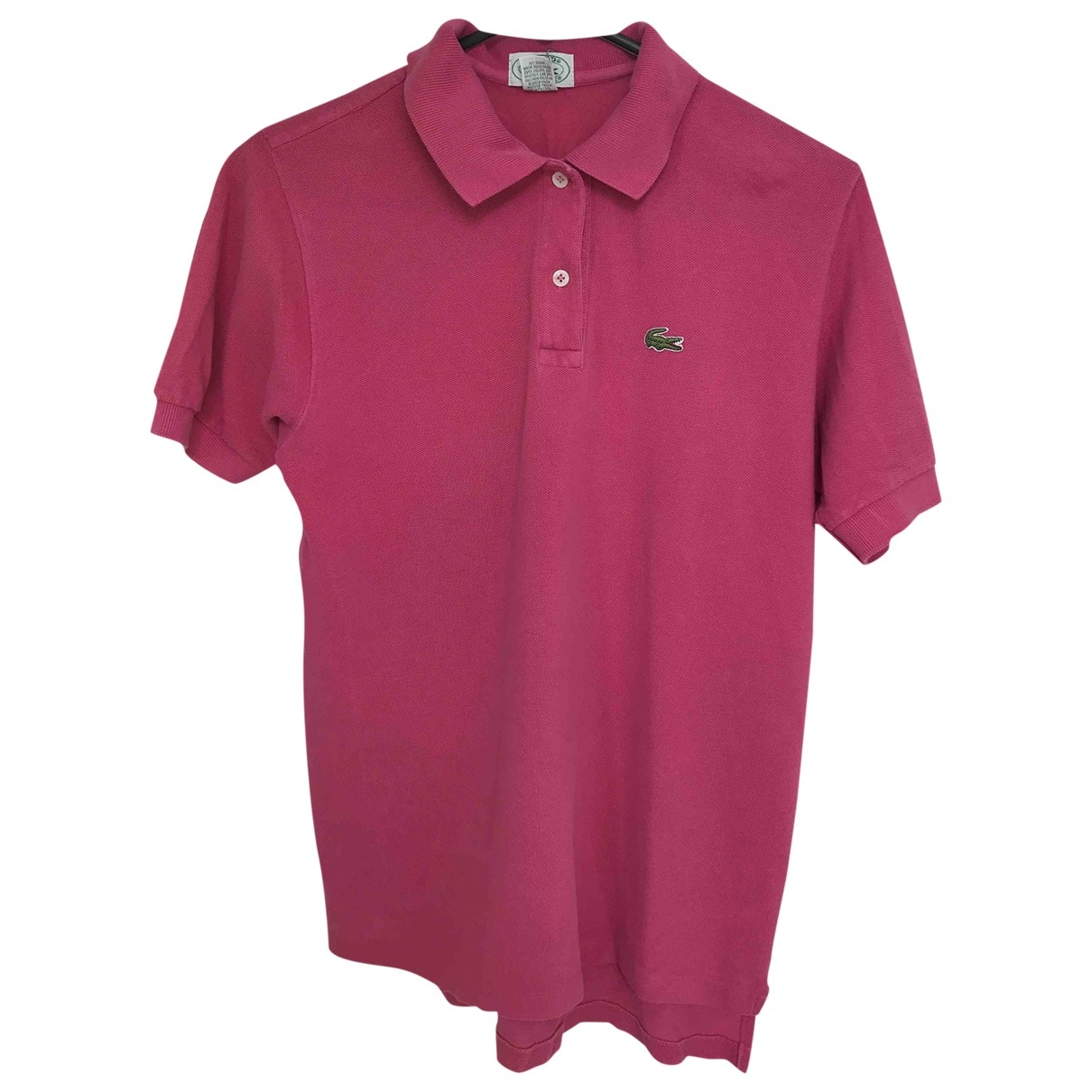 Lacoste \N Pink Cotton Polo shirts for Men S International