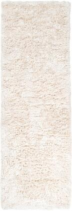 Ashton Collection ASH1300-410 Runner 4' x 10' Rug  Hand Woven with Wool Material in Cream