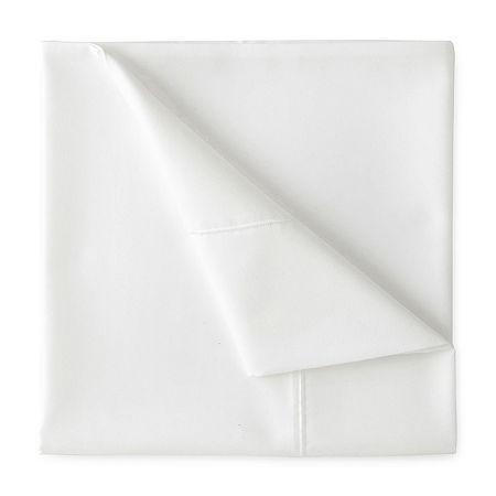 Liz Claiborne Luxury 600tc Sateen Wrinkle Free Sheet Set, One Size , White