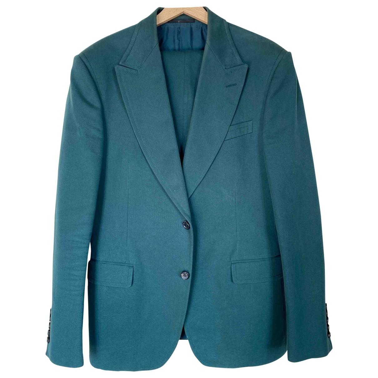 Gucci - Costumes   pour homme en coton - vert