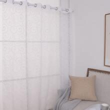 Graphic Print Single Panel Curtain