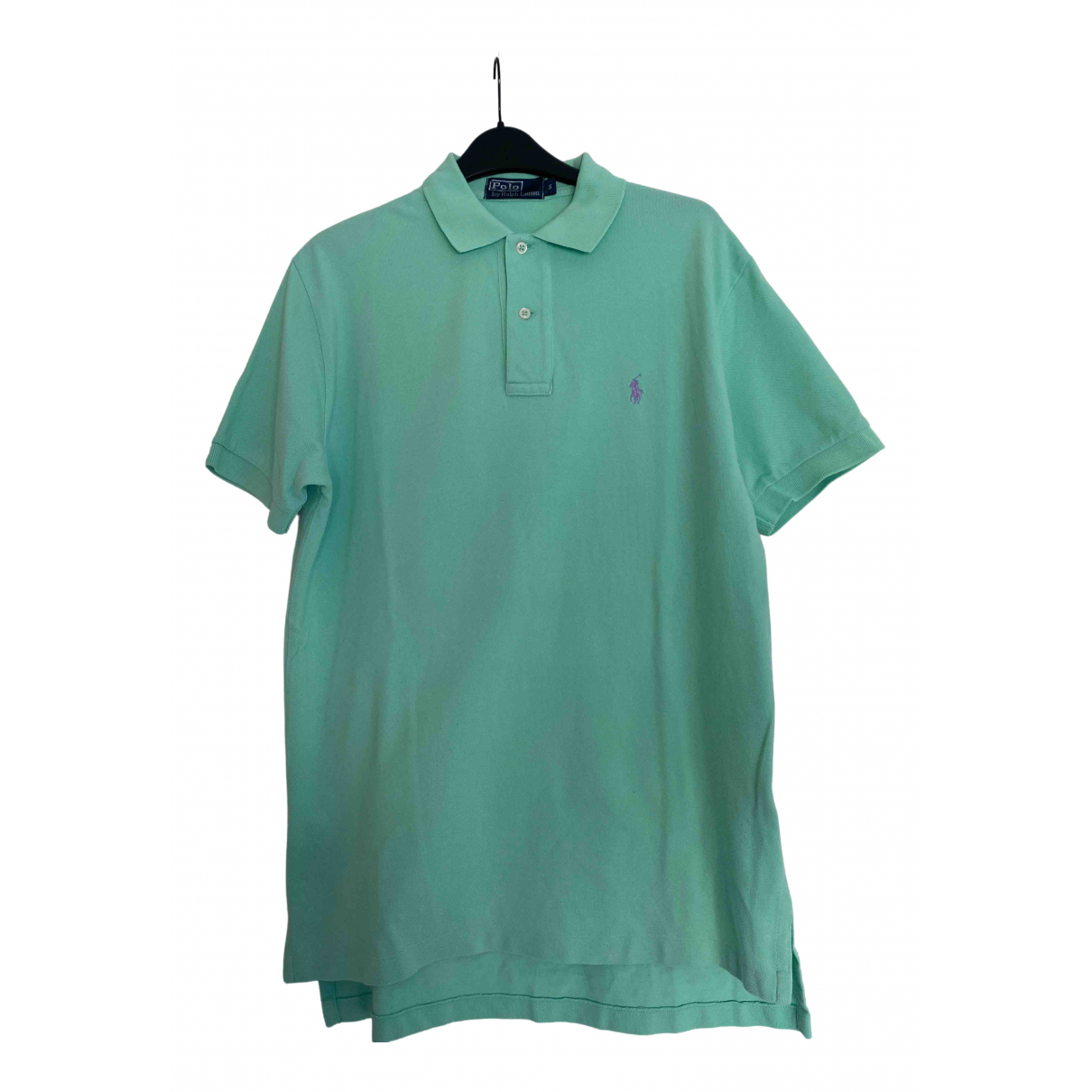 Polo Ralph Lauren \N Green Cotton Polo shirts for Men S International