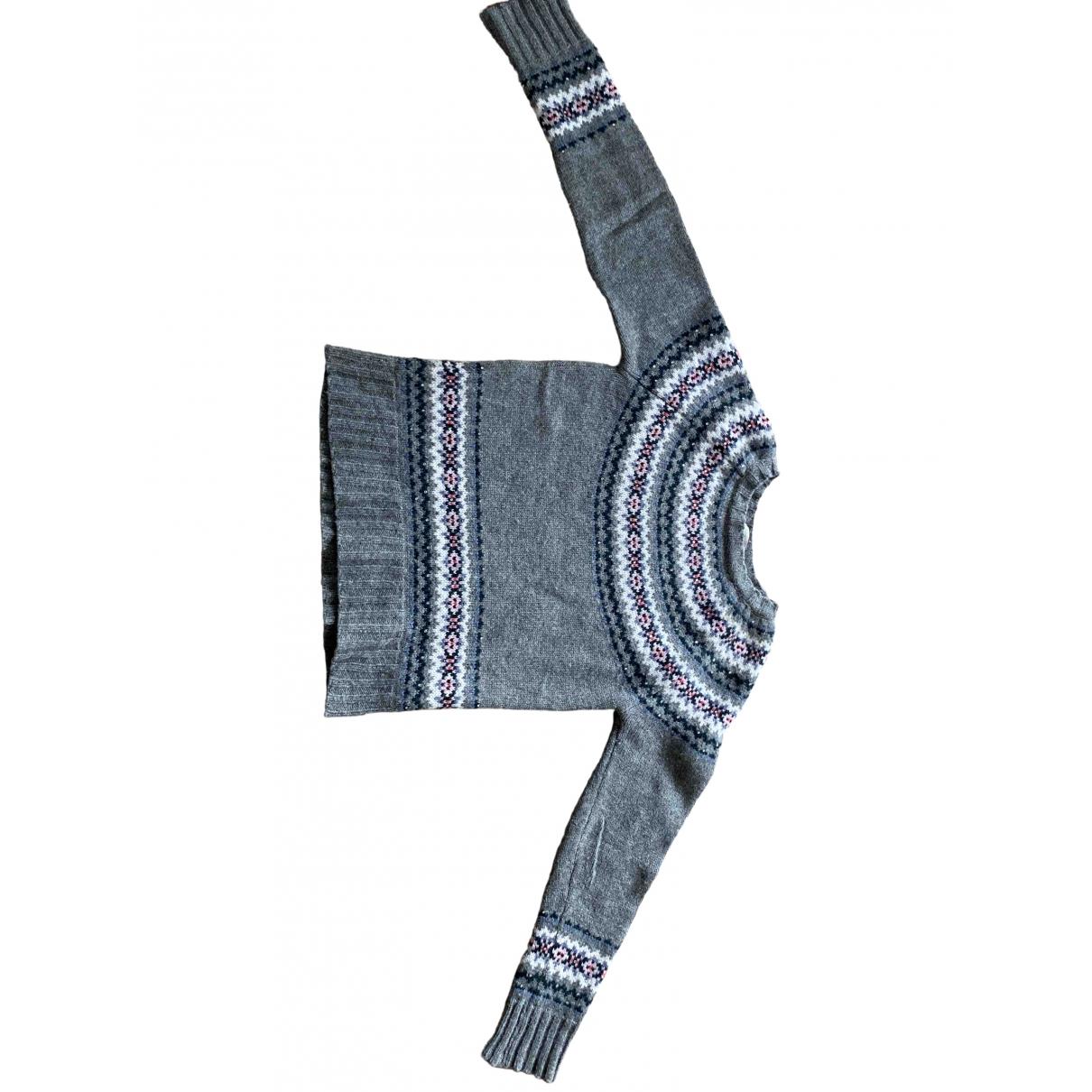 Bonpoint \N Grey Wool Knitwear for Kids 12 years - XS FR