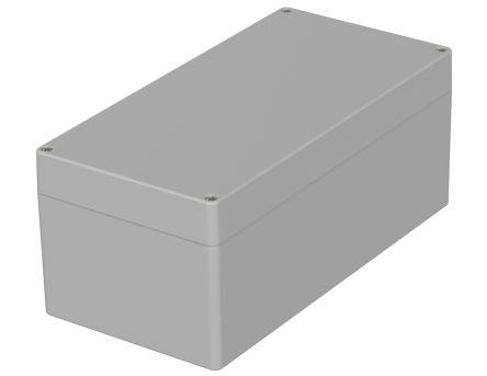 Bopla Euromas, Light Grey ABS Enclosure, IP66, Flanged, 240 x 120 x 100mm