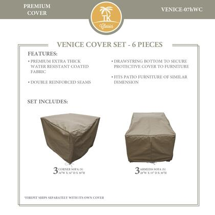 VENICE-07hWC-GRY Protective Cover Set  for VENICE-07h in
