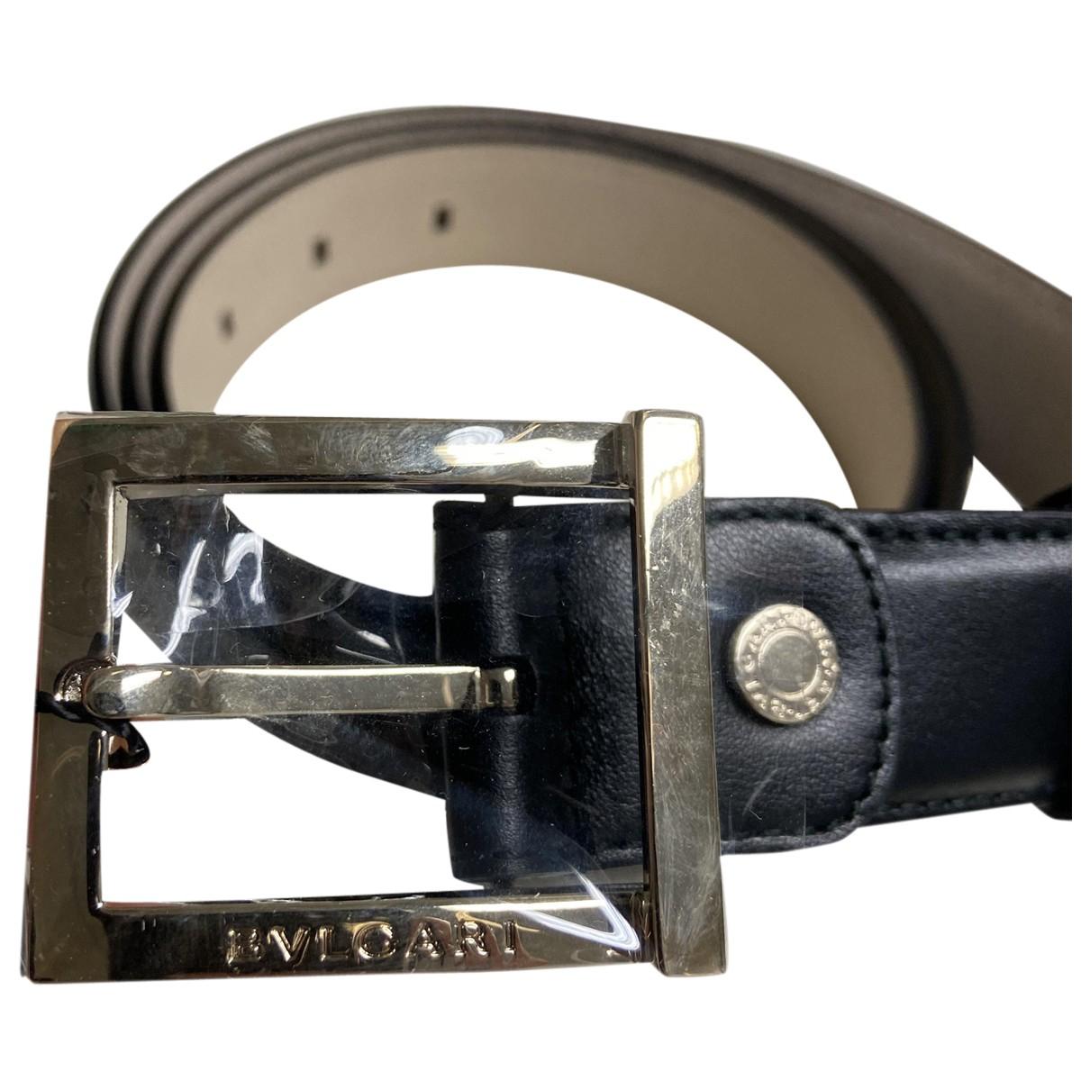 Cinturon de Cuero Bvlgari