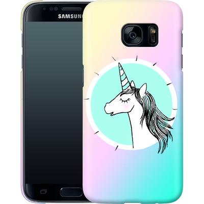 Samsung Galaxy S7 Smartphone Huelle - Happiness Unicorn von caseable Designs